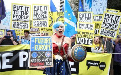 EU Supergirl Says Brexit Go Bollocks
