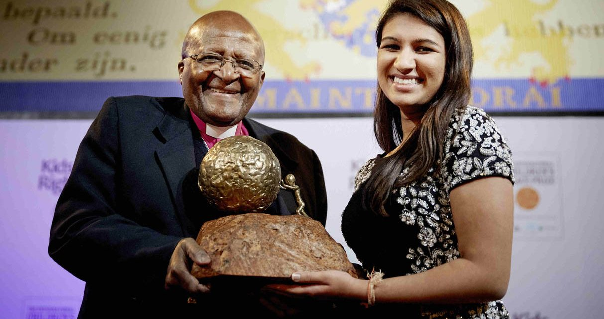 Neha Scores World's Children's Peace Prize