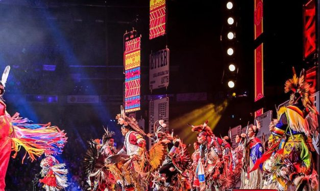 First Nations Tribes Grace WE DAY Toronto