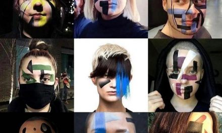 Meet the Dazzlers' anti-surveillance make-up and haircuts