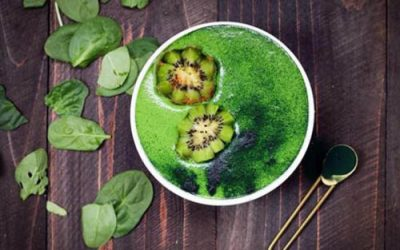 Green Smoothie Bowl, by Chrissie Fire Mane