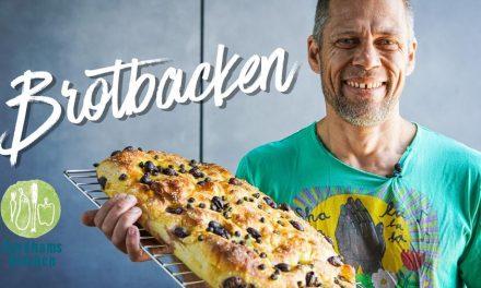 Veganes Focaccia – Brot selber backen mit Surdham